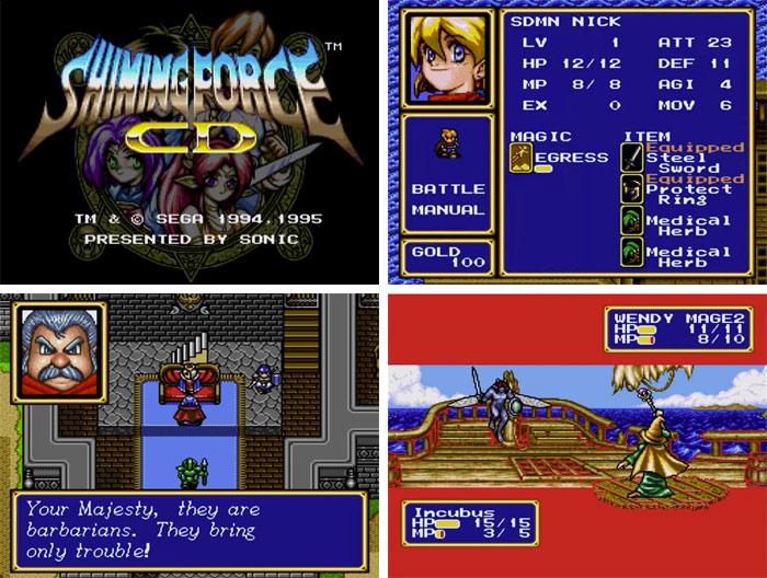 En su momento, muchos usuarios esperaban que este Shinig Force CD hubiera sido el Shining Force definitivo en un sistema de 16 bits, pero SEGAse decidió por desarrollar este remake antes que por un nuevo título creado desde cero